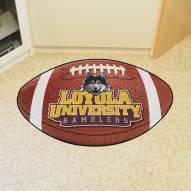 Loyola Chicago Ramblers Football Floor Mat