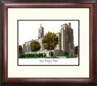 Loyola Chicago Ramblers Alumnus Framed Lithograph