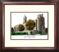 Loyola Chicago Ramblers Alumnus Framed Lithograph