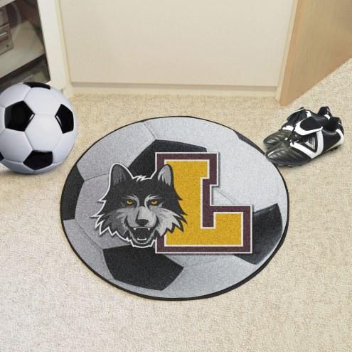 Loyola Chicago Ramblers Soccer Ball Mat