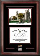 Loyola Chicago Ramblers Spirit Diploma Frame with Campus Image