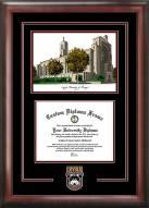 Loyola Chicago Ramblers Spirit Diploma Frame with Campus Image