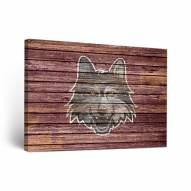 Loyola Chicago Ramblers Weathered Canvas Wall Art