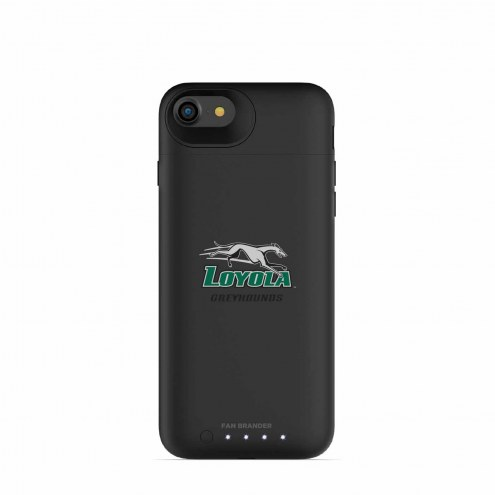 Loyola Greyhounds mophie iPhone 8/7 Juice Pack Air Black Case