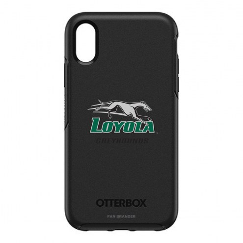 Loyola Greyhounds OtterBox iPhone XR Symmetry Black Case