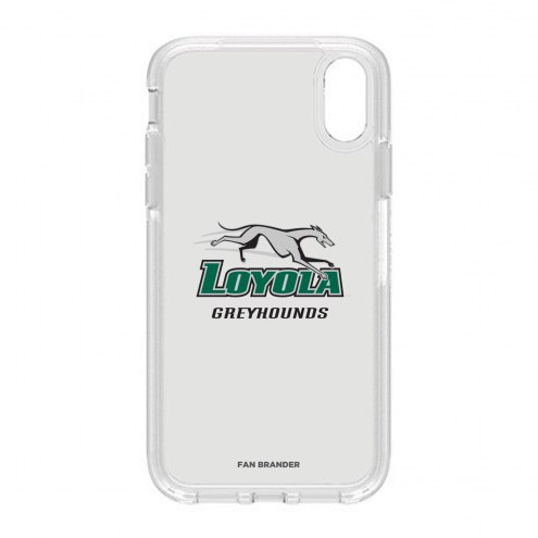 Loyola Greyhounds OtterBox iPhone XR Symmetry Clear Case