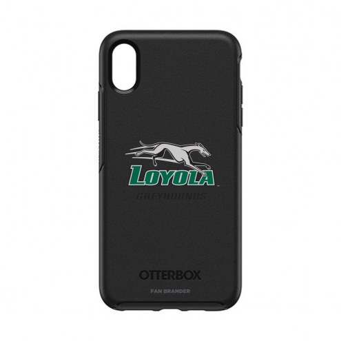 Loyola Greyhounds OtterBox iPhone XS Max Symmetry Black Case