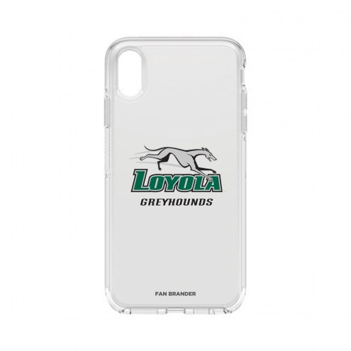 Loyola Greyhounds OtterBox iPhone XS Max Symmetry Clear Case