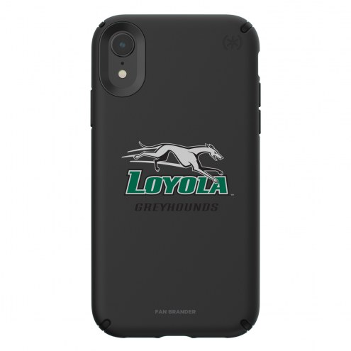 Loyola Greyhounds Speck iPhone XR Presidio Pro Black Case