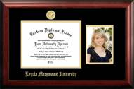 Loyola Marymount Lions Gold Embossed Diploma Frame with Portrait
