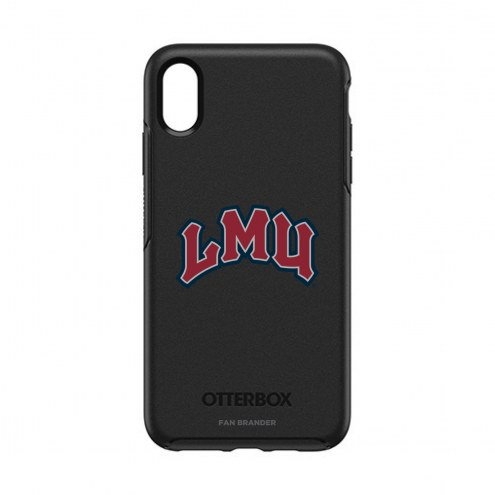 Loyola Marymount Lions OtterBox iPhone XS Max Symmetry Black Case