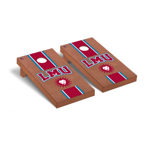 Loyola Marymount Lions Rosewood Stained Cornhole Game Set