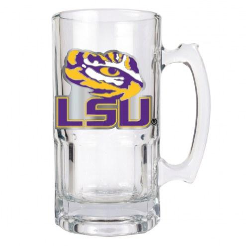 LSU Tigers College 1 Liter Glass Macho Mug