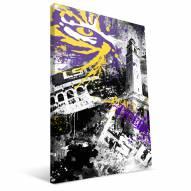 "LSU Tigers 16"" x 24"" Spirit Canvas Print"