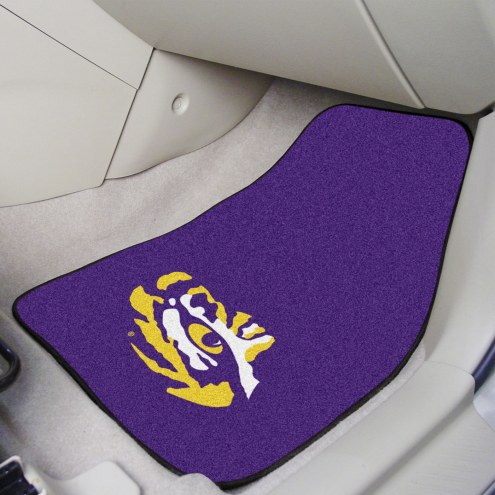 LSU Tigers 2-Piece Carpet Car Mats