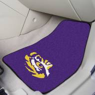 LSU Tigers 2-Piece Carpet Car Mats