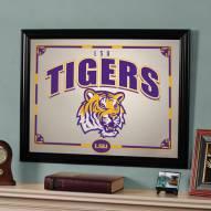 """LSU Tigers 23"""" x 18"""" Mirror"""