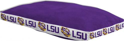 "LSU Tigers 26"" x 37"" Dog Bed"