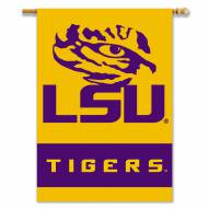"LSU Tigers 28"" x 40"" Two-Sided Banner"