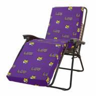LSU Tigers 3 Piece Chaise Lounge Chair Cushion
