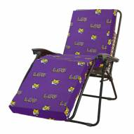 LSU Tigers 3 Piece Chaise Lounge Chair Cushion
