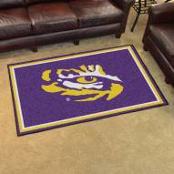 LSU Tigers 4' x 6' Area Rug