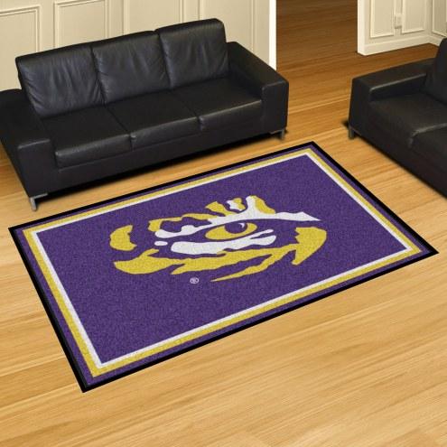 LSU Tigers 5' x 8' Area Rug