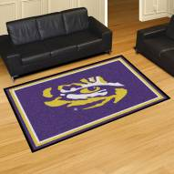 LSU Tigers 5' x 8' Area Rug