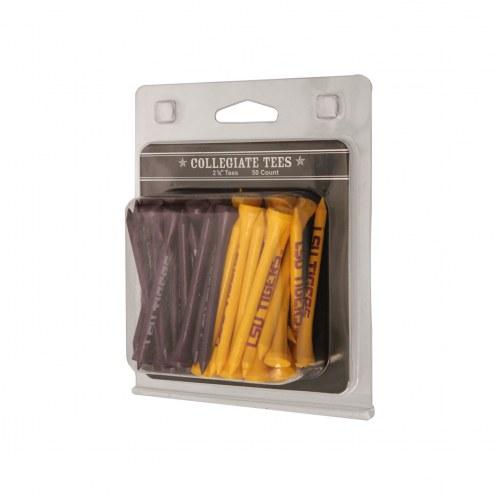 LSU Tigers 50 Golf Tee Pack