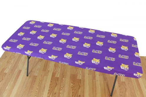 LSU Tigers 6' Logo Table Cover