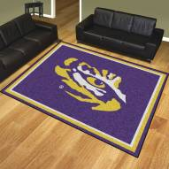 LSU Tigers 8' x 10' Area Rug