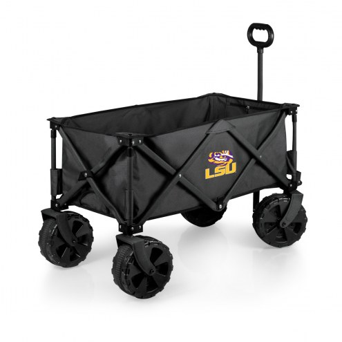 LSU Tigers Adventure Wagon with All-Terrain Wheels