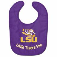 LSU Tigers All Pro Little Fan Baby Bib