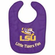 LSU Tigers All Pro Little Fan Baby Bib