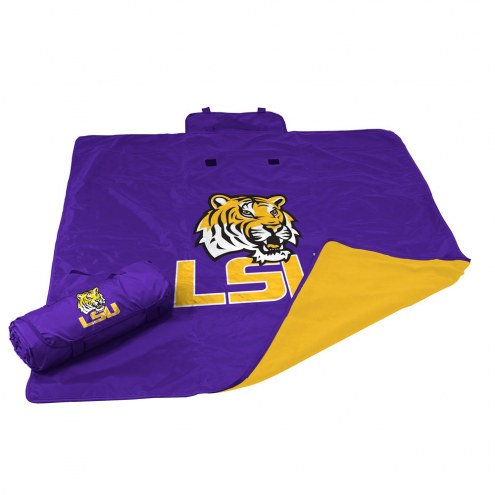 LSU Tigers All Weather Blanket