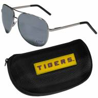 LSU Tigers Aviator Sunglasses and Zippered Carrying Case