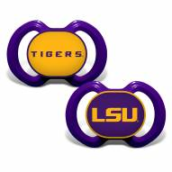 LSU Tigers Baby Pacifier 2-Pack