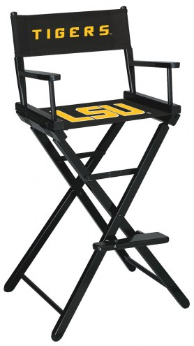 LSU Tigers Bar Height Director's Chair
