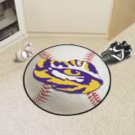 LSU Tigers Baseball Rug