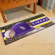 LSU Tigers Baseball Runner Rug