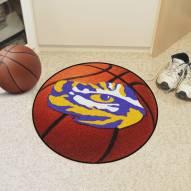 LSU Tigers Basketball Mat