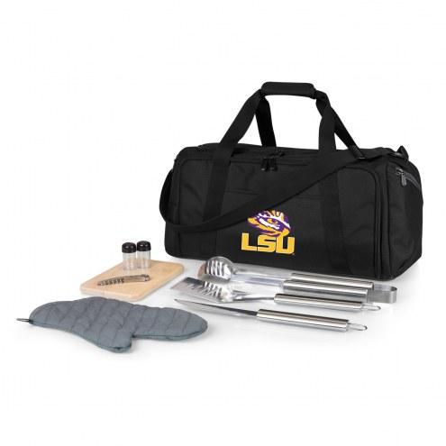 LSU Tigers BBQ Kit Cooler