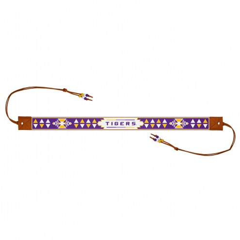 LSU Tigers Beaded Headwrap