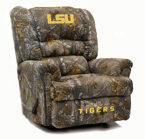 LSU Tigers Big Daddy Camo Recliner