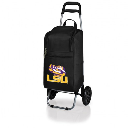 LSU Tigers Black Cart Cooler