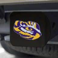 LSU Tigers Black Color Hitch Cover
