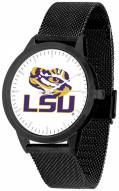 LSU Tigers Black Mesh Statement Watch