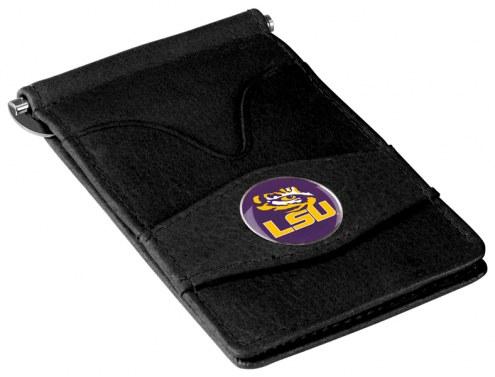 LSU Tigers Black Player's Wallet