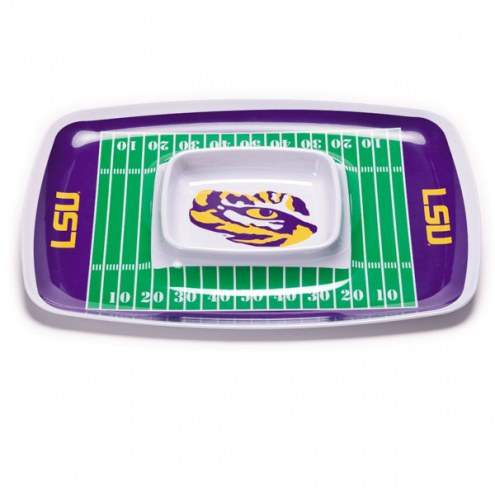 LSU Tigers Chip & Dip Tray