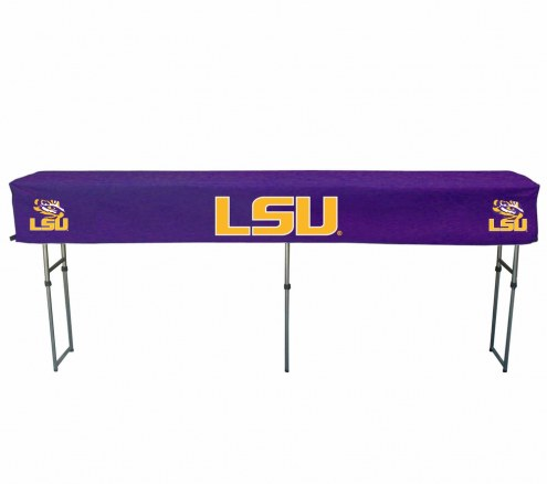 LSU Tigers Buffet Table & Cover